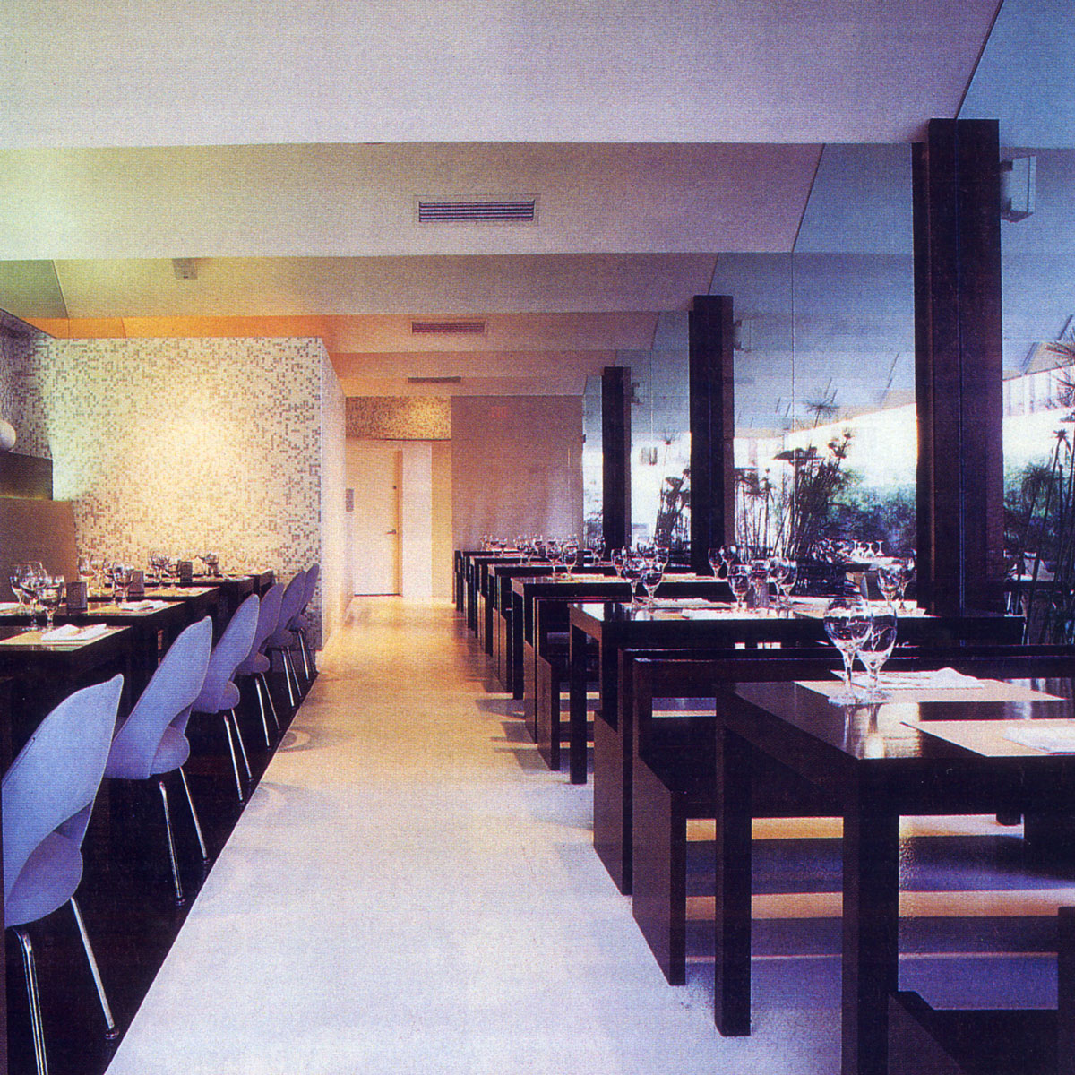 Restaurant Los Angeles Interior Design