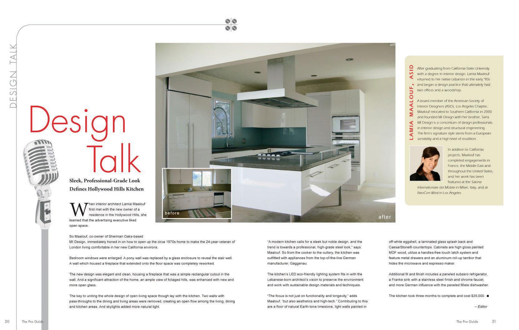 The pro guide los angeles interior design for Interior design guide